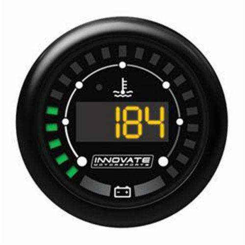 שעון INNOVATE MOTORSPORT טמפ' מים ומצב מצבר